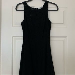 Simple black dress from Nordstrom